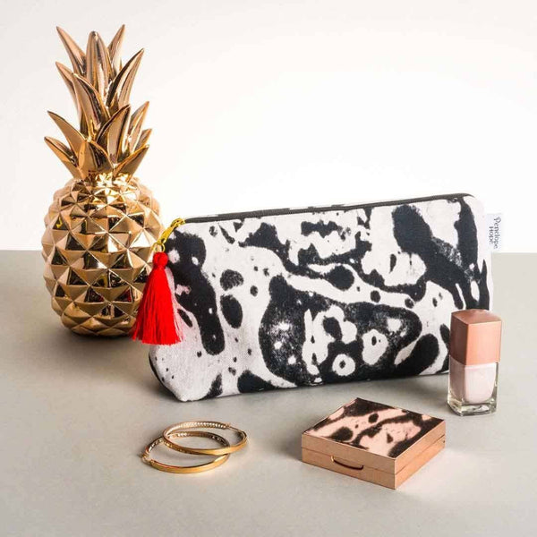 Mono Marble Makeup Bag | Penelope Hope