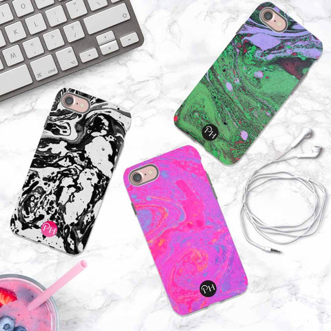 Marble Phone Case for iPhone by Penelope Hope