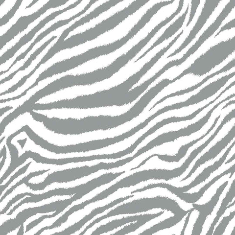 Grey Zebra Print | Fabric