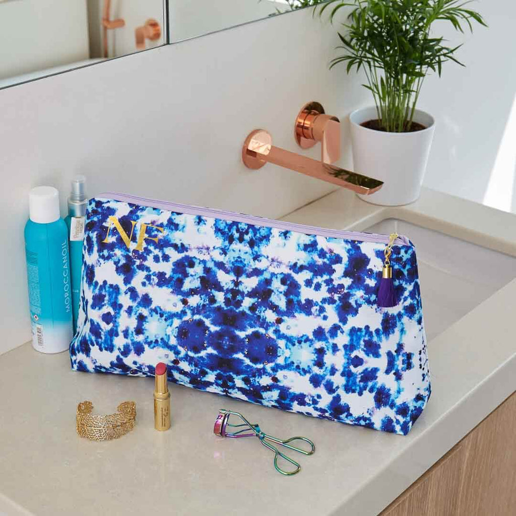 Personalised Mesmerise Waterproof Large Wash Bag by Penelope Hope