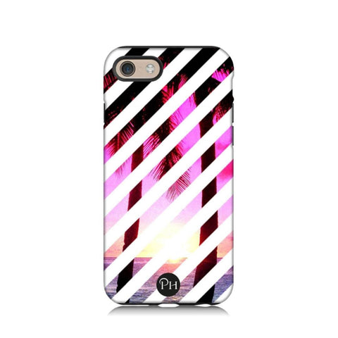 Pink Palms Phone Case by Penelope Hope