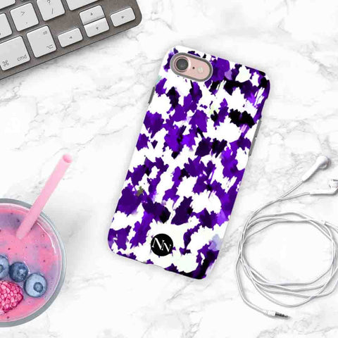 Violet Storm Personalised Phone case
