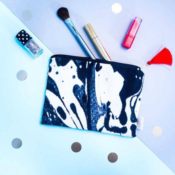 Mono Marble Pouch by Penelope Hope