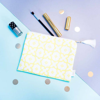 Taha'a Zip Pouch Chartreuse | Penelope Hope