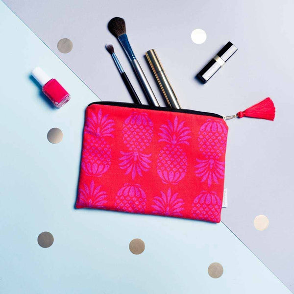 Pineapple Pouch Red Mix by Penelope Hope