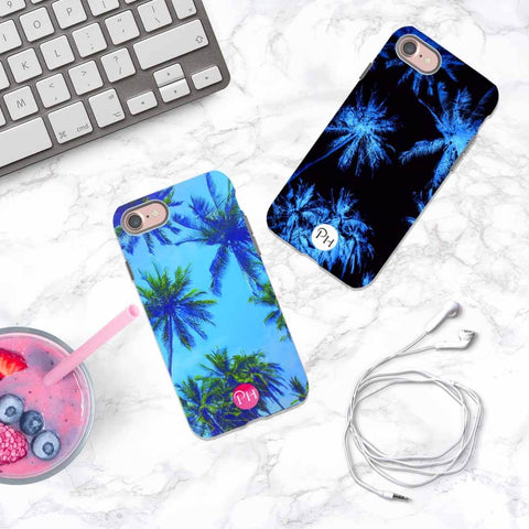 Palm Tree Sky Phone Cases by Penelope Hope