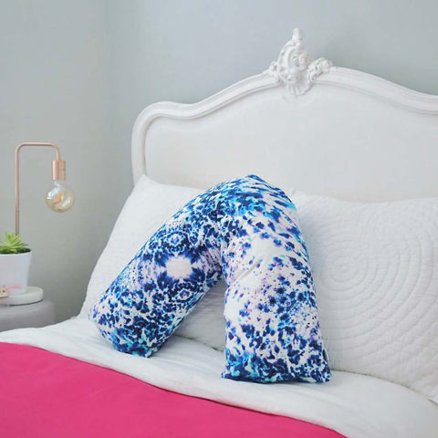 V-shaped Pillow in Mesmerise Design by Penelope Hope