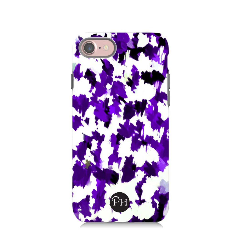 Violet Storm Personalised  iPhone Case