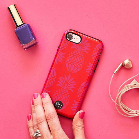 Pina Colada Red Mix Phone case