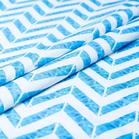 Let's take a dip! ~ Pool Blue | Fabric