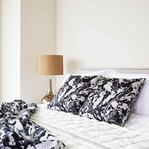 Mono Marble | Silk Cushion