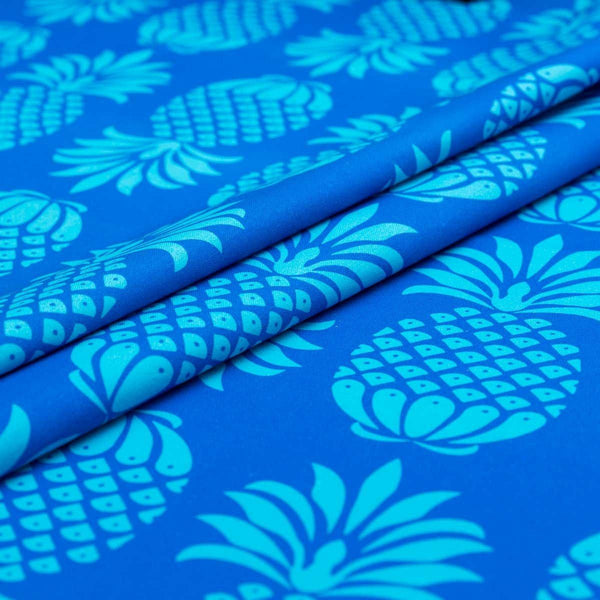 Pina Colada ~ Blue Mix | Fabric