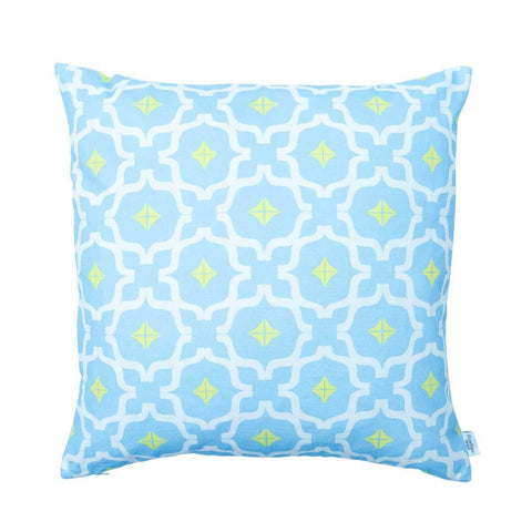 Taha'a Moroccan Blue Cushion | Penelope Hope