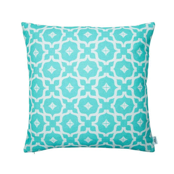 Taha'a Moroccan Teal Cushion | Penelope Hope