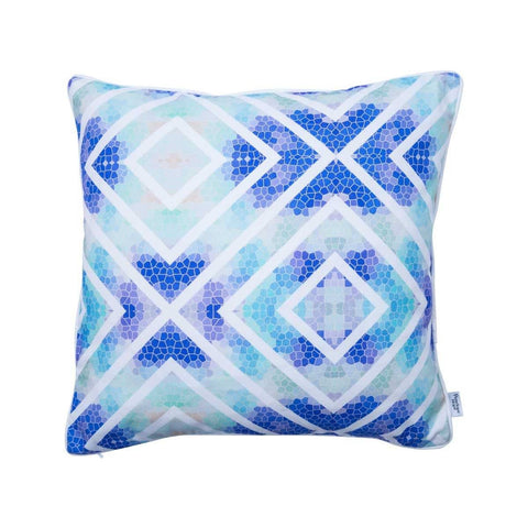 Wanderlust Azure Cushion | Penelope Hope