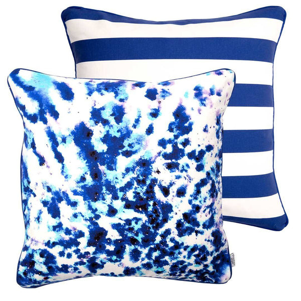 Mesmerise Watercolour Cushion 50x50cm | Penelope Hope