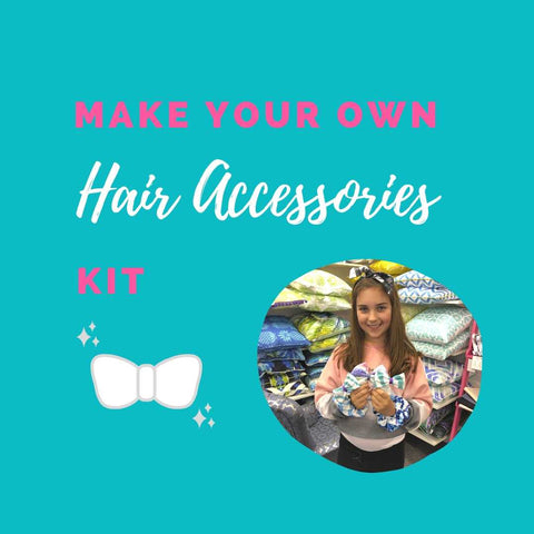 Make Your Own Hair Accessories Kit