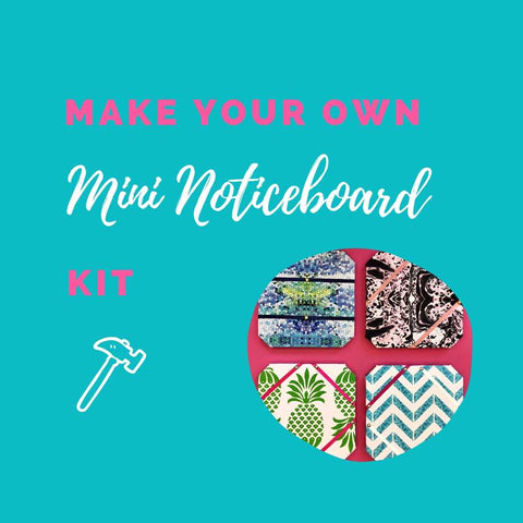 Make Your Own Mini Noticeboard Kit