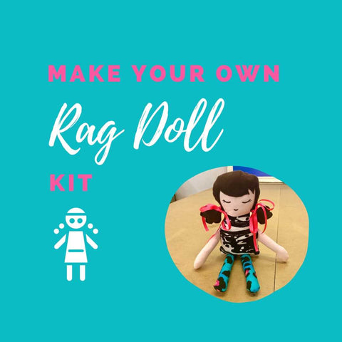 Make Your Own 'Penny' Rag Doll Kit
