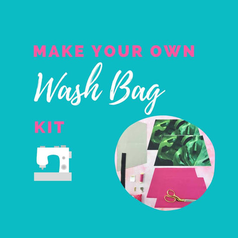 Make Your Own Wash Bag Kit