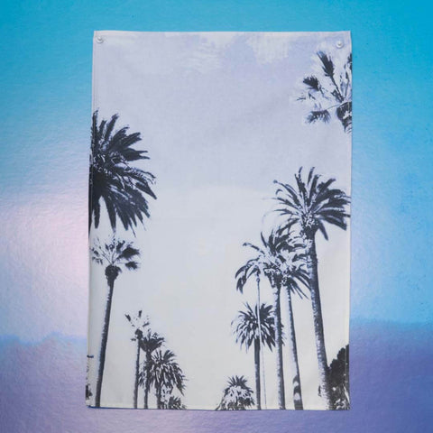 *SAMPLE* Sunset Boulevard Tea Towel