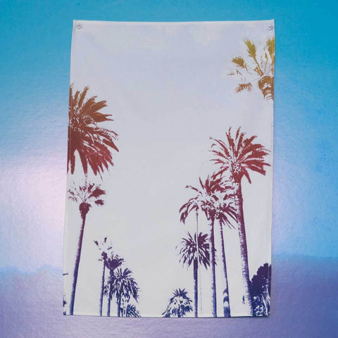 *SAMPLE* Sunset Boulevard Colourwash Tea Towel