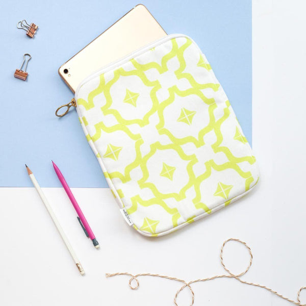 Taha'a Chartreuse Tablet Case