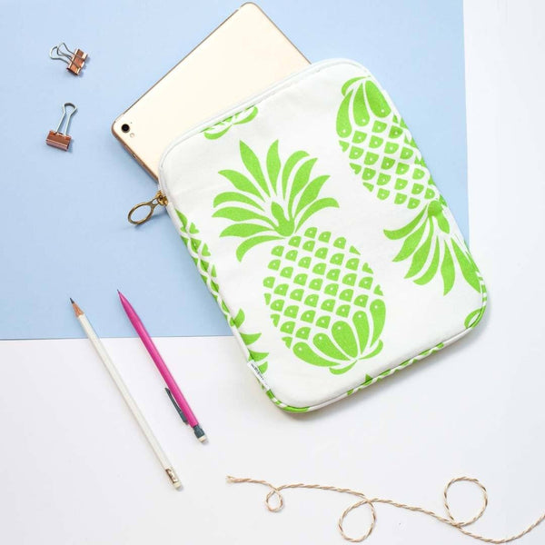 Pina Colada Green iPad Case by Penelope Hope