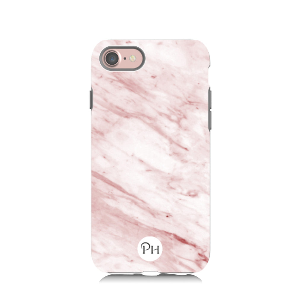 Blush Pink Marble Phone Case by Penelope Hope