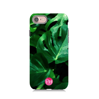 Monstera leaf iPhone Case by Penelope Hope