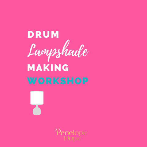 How to make a lampshade | Workshop