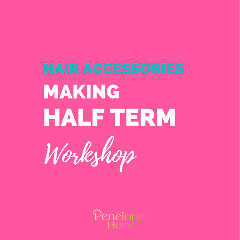 Sewing Basics - Kids Hair Accessories | Workshop