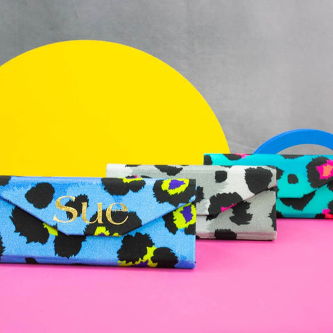 Leopard Print Glasses Cases