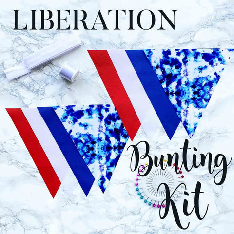 Make Your Own Liberation Bunting Kit