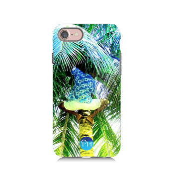 Picking Coconuts Phone Case by Penelope Hope
