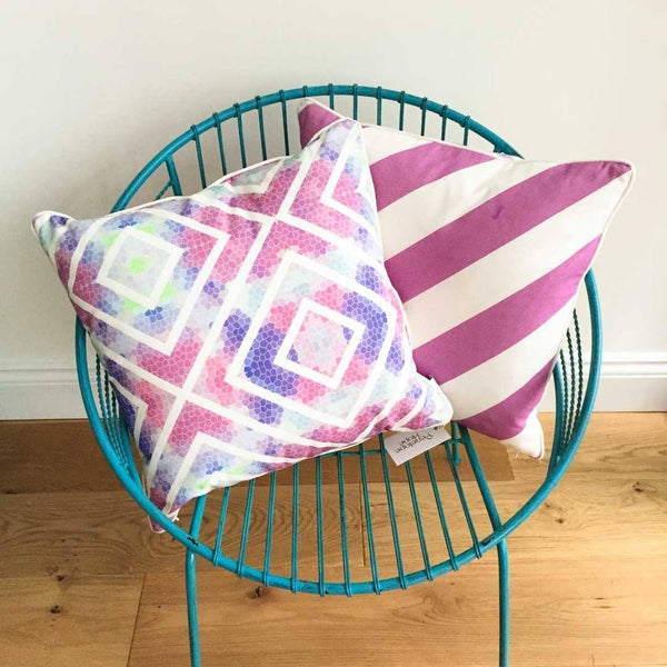 * SAMPLE * Wanderlust Cushion Covers ~ Sunset