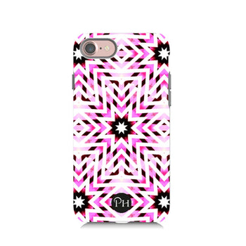 Starburst Pink Phone Case by Penelope Hope