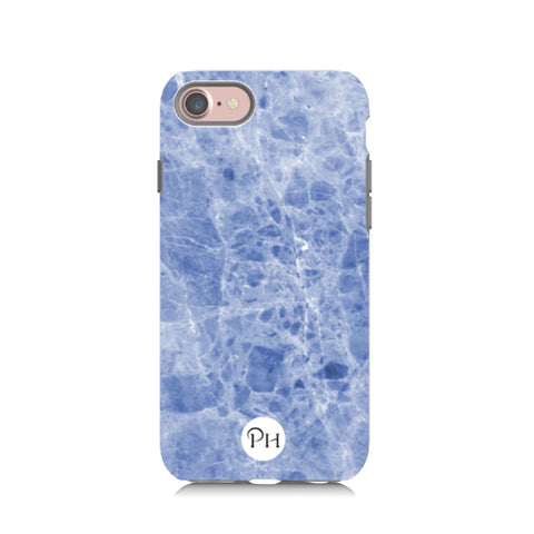 Blue Marble Phone Case by Penelope Hope