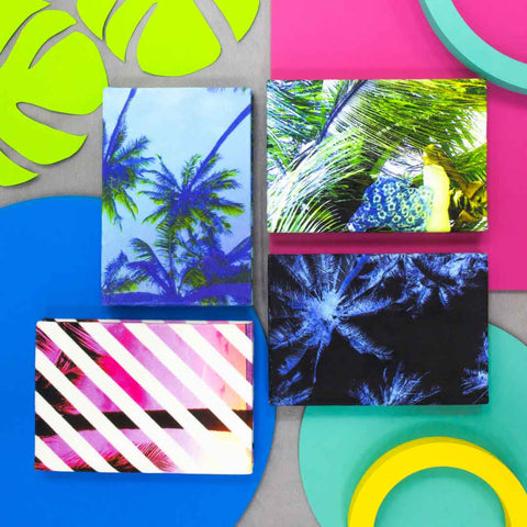 Tropical Palm Tree A6 Notebooks