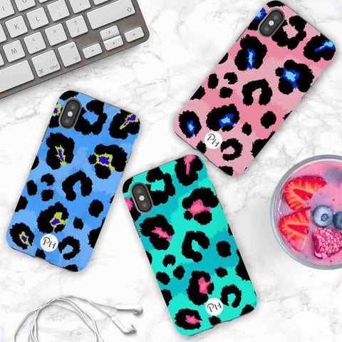 iPhone Cases in colourful Leopard print designs | Penelope Hope