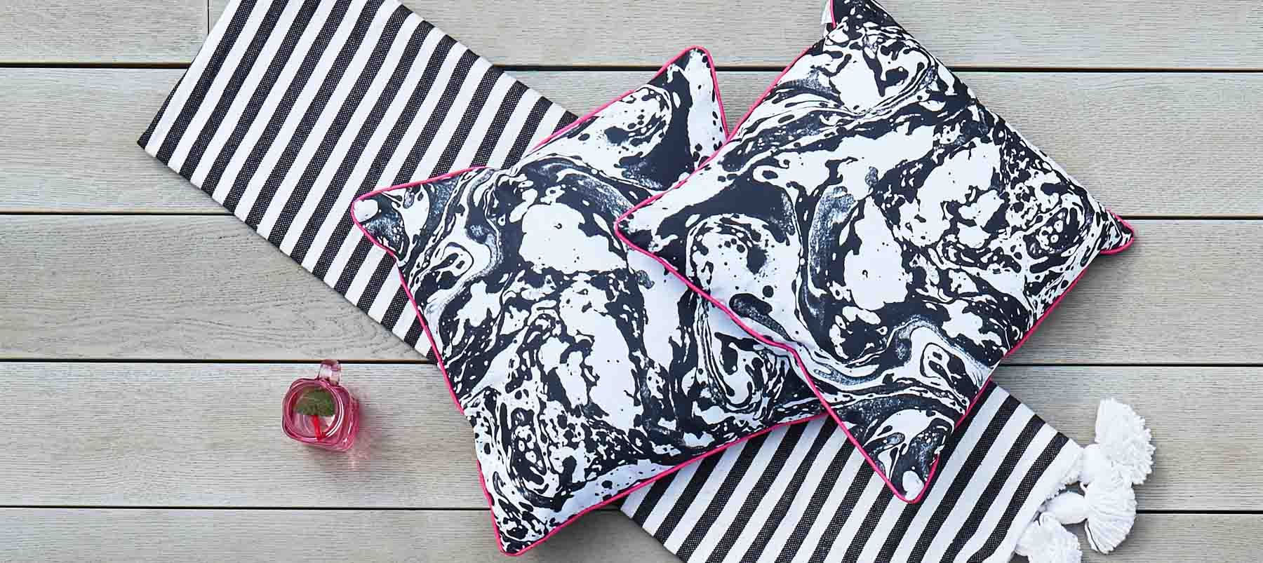 PLUNGE CUSHIONS & FABRIC