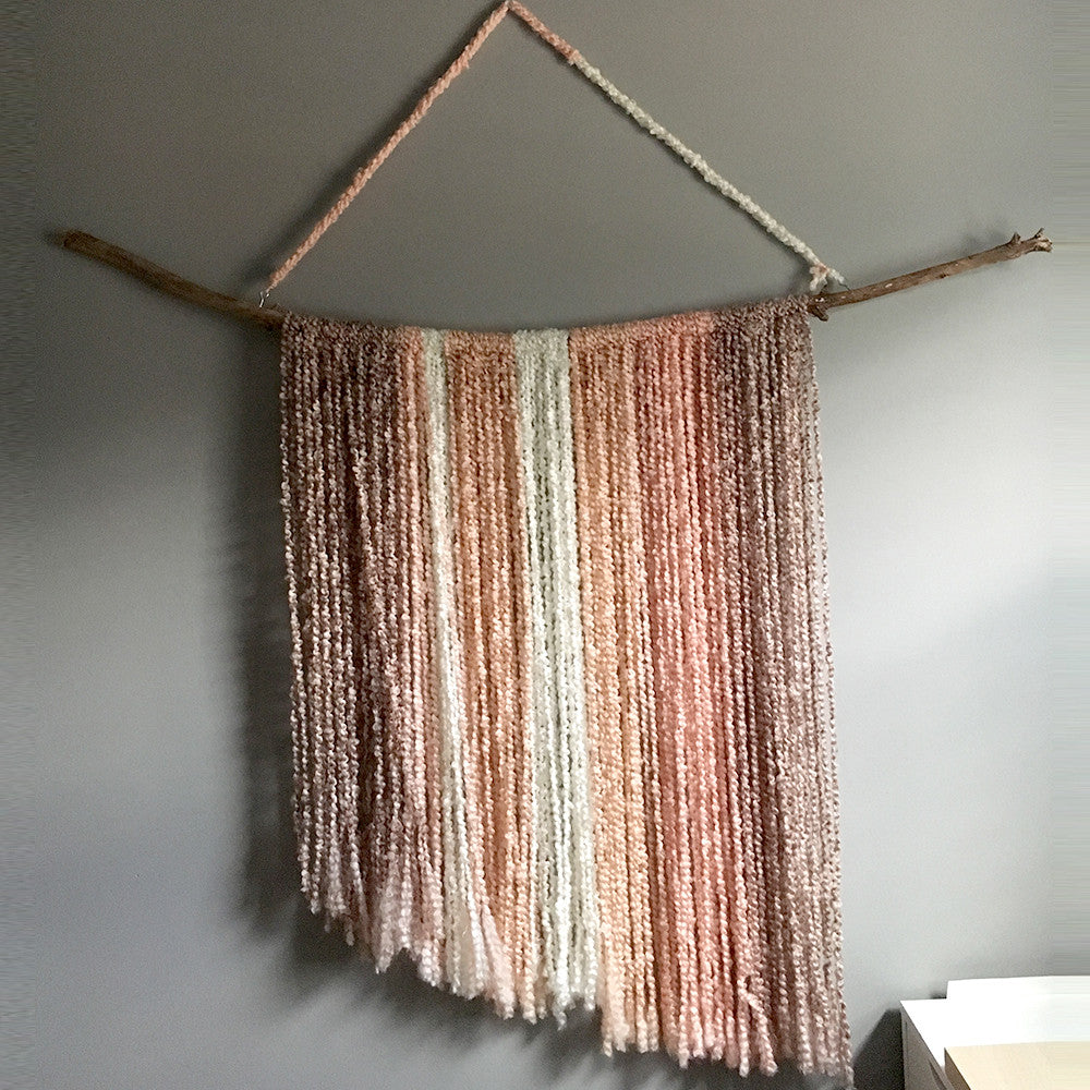 MADE TO ORDER - Fiber Art Textile Wall Hanging
