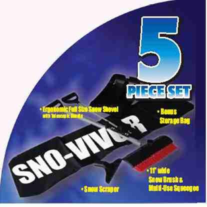 SnoVivor: Auto Emergency Kit BUY 2 get 1 FREE (Set of 3 $59.99 )