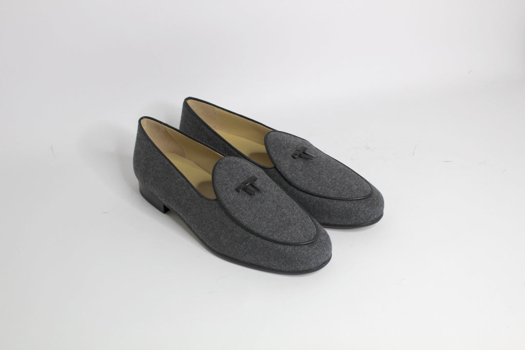 Continental Loafer in Dark Grey Flannel