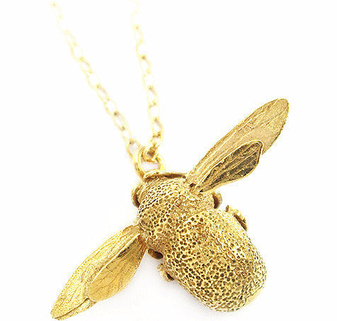 Alex Monroe Bumblebee Necklace