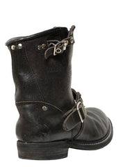 Golden Goose Golden Biker Boots Black