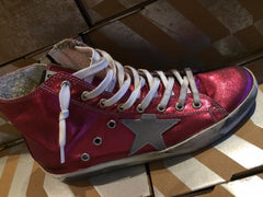 Golden Goose Francy Sneakers Strawberry/ Silver Star
