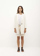 Pomandere Cream Light Coat