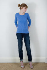 Claudia Nichole Cable Knit Cashmere Jumper