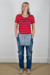Isabel Marant Etoile Red Klement Tee shirt